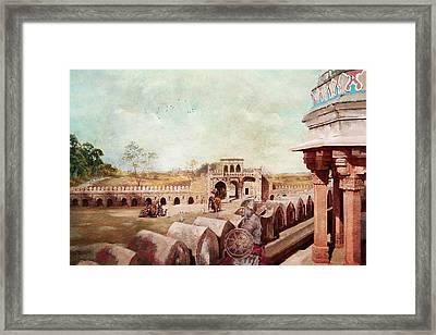 Humayun Tomb Framed Print