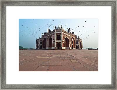 Humayuns Tomb Framed Print by Ankur Dauneria