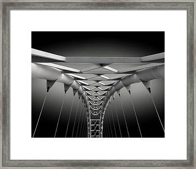 Humber Bridge Framed Print
