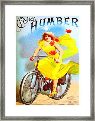 Humber Cycles Framed Print by Charlie Ross