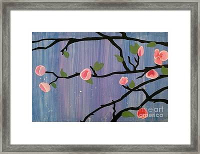 Framed Print featuring the painting Humble Splash by Marisela Mungia