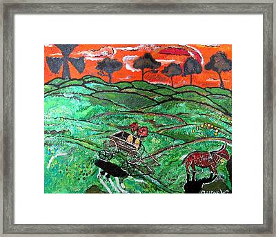 Humid Summer Framed Print by Matthew  James