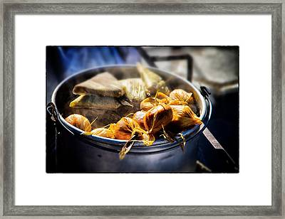 Humitas Bolivia Select Focus Framed Print by For Ninety One Days