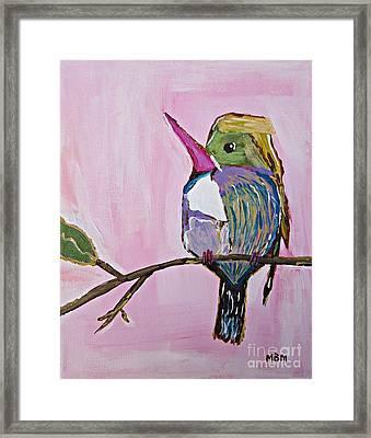 Hummingbird No. 1 Framed Print