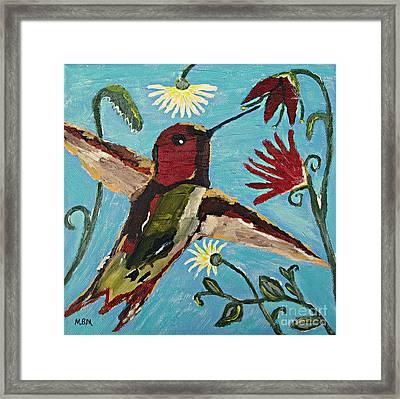 Hummingbird No. 2 Framed Print