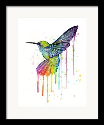 Wild Birds Framed Prints