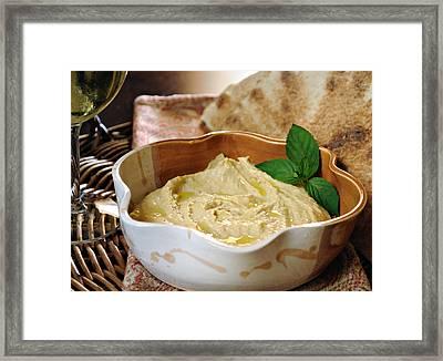 Hummus Framed Print