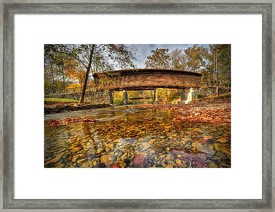 Humpback Bridge Framed Print