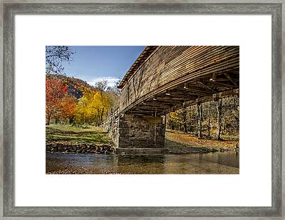Humpback Bridge Framed Print