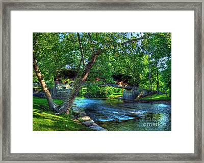 Humpback Covered Bridge Framed Print by Mel Steinhauer