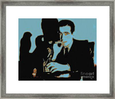 Humphrey Bogart And The Maltese Falcon 20130323p88 Framed Print