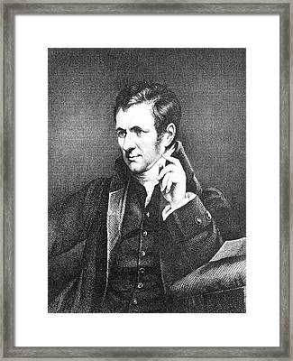 Humphrey Davy Framed Print by Science Photo Library
