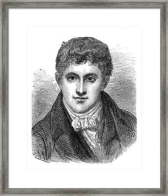 Humphry Davy Framed Print
