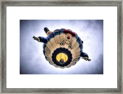 Humpty Dumpty Hot Air Balloon Framed Print