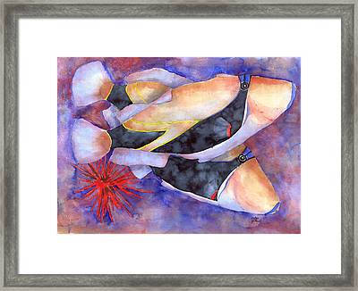 Humuhumunukunukuapuaa Framed Print by Pauline Jacobson