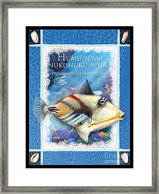 Humuhumunukunukuapua'a Framed Print