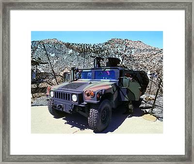 Humvee Framed Print