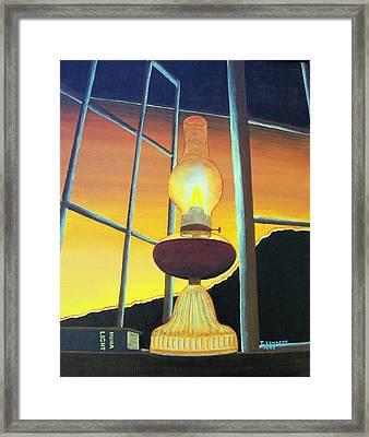 Huna Light Framed Print