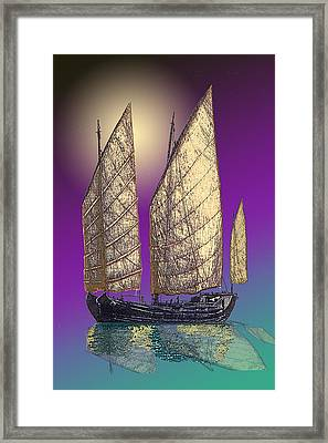 Hunan Honey Framed Print