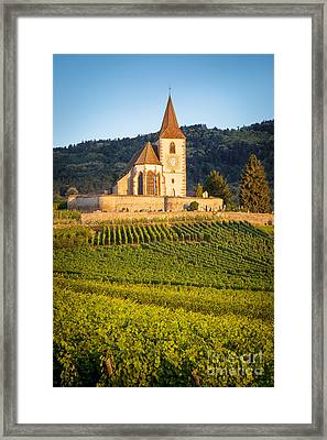 Hunawihr Dawn Framed Print by Brian Jannsen