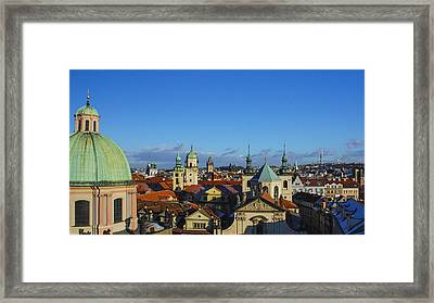 Hundred Spires Framed Print by David Waldo
