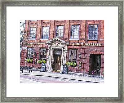 Hung Drawn And Quartered Framed Print