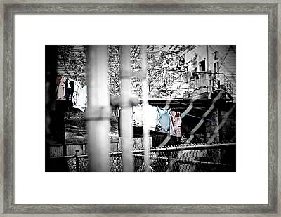 Hung To Dry Framed Print by Lisa Knechtel