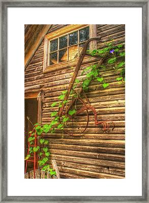 Hung To Rest Framed Print by Randy Pollard