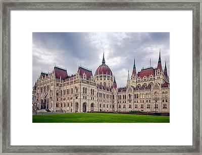 Hungarian Parliament  Framed Print