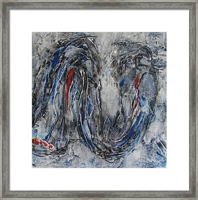 Hunger I Framed Print by Sandra Gail Teichmann-Hillesheim