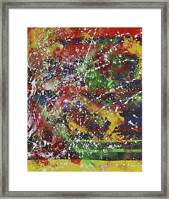Hunger Pains Framed Print by Artists With Autism Inc