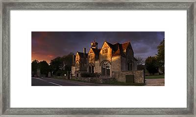 Hungerford Almshouses Framed Print