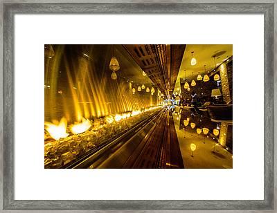 Hunk Of Burnin' Love Framed Print by Randy Scherkenbach