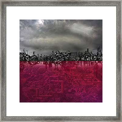 Hunted Framed Print by Andy Walsh