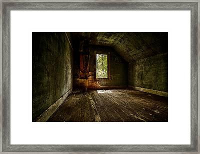 Hunted House In The Daylight Framed Print by Jakub Sisak