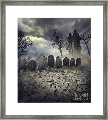 Hunted House Framed Print