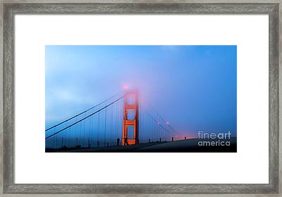 Hunter Becomes The Game Framed Print