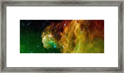 Hunter Constellation Framed Print by Sebastian Musial