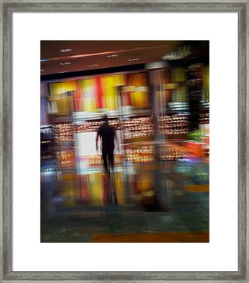 Framed Print featuring the photograph Hunter-gatherer by Alex Lapidus