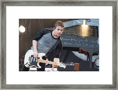 Hunter Hayes Framed Print by Mike Burgquist