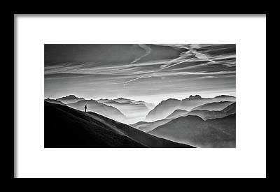 Hut Framed Prints