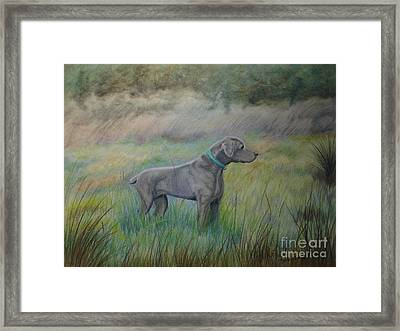 Hunter Framed Print by Laurianna Taylor