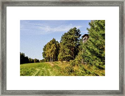 Hunter Lookout Framed Print by Aged Pixel