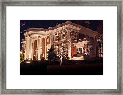 Hunter Museum By Night 1 Framed Print by Douglas Barnett