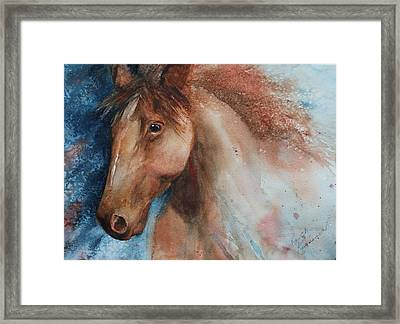 Hunter Framed Print by Ruth Kamenev