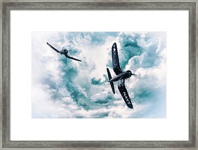 Hunters 2 Framed Print by Peter Chilelli