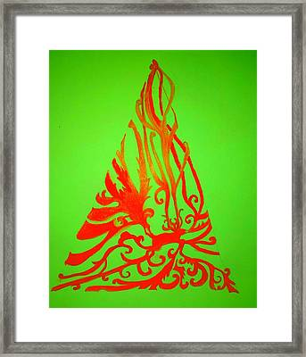 Hunting For A Christmas Tree Framed Print