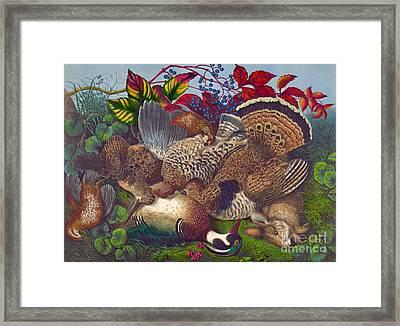 Hunters Harvest 1866 Framed Print