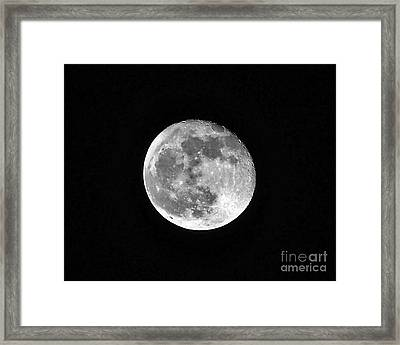 Hunters Moon Framed Print by Al Powell Photography USA