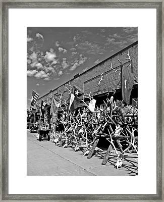 Hunter's Paradise Framed Print